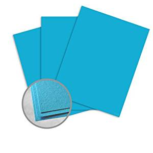 Astrobrights Celestial Blue Card Stock - 11 x 17 in 65 lb Cover Smooth 30% Recycled 250 per Package