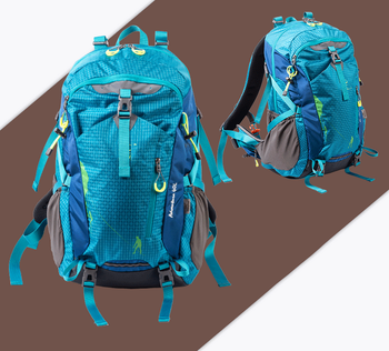 Waterproof Colorful 40L Nylon Hiking Backpack for Sale