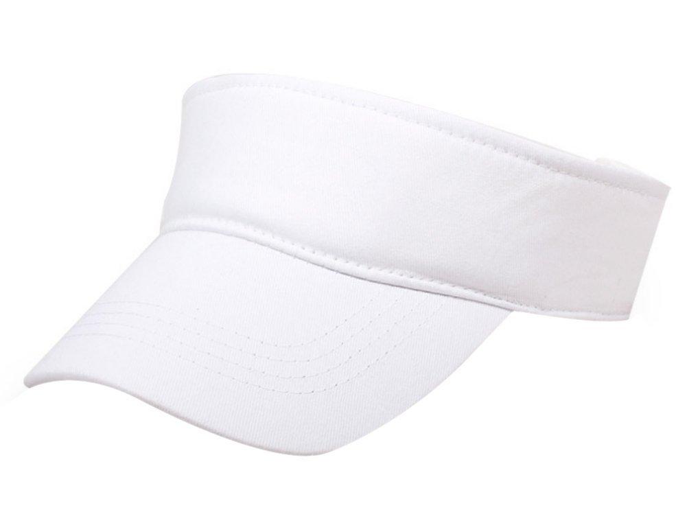9a409223cf1 Get Quotations · Eforstore Kids Children Deluxe Cotton Visor Topless Sun Hat  Summer Outdoor Baseball Golf Caps