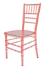 crystal pink wholesale clear resin chair, PC chiavari chair