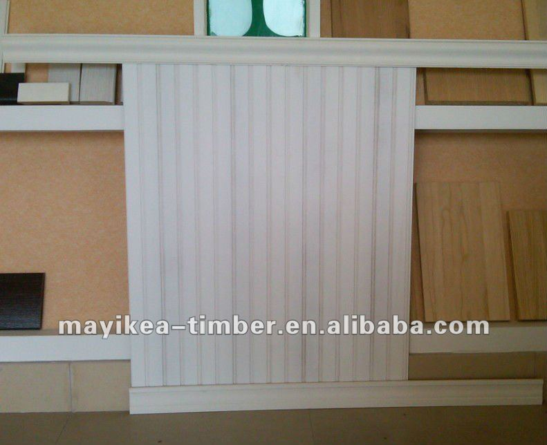 Gesso And Prime Mdf Wainscoting Trim