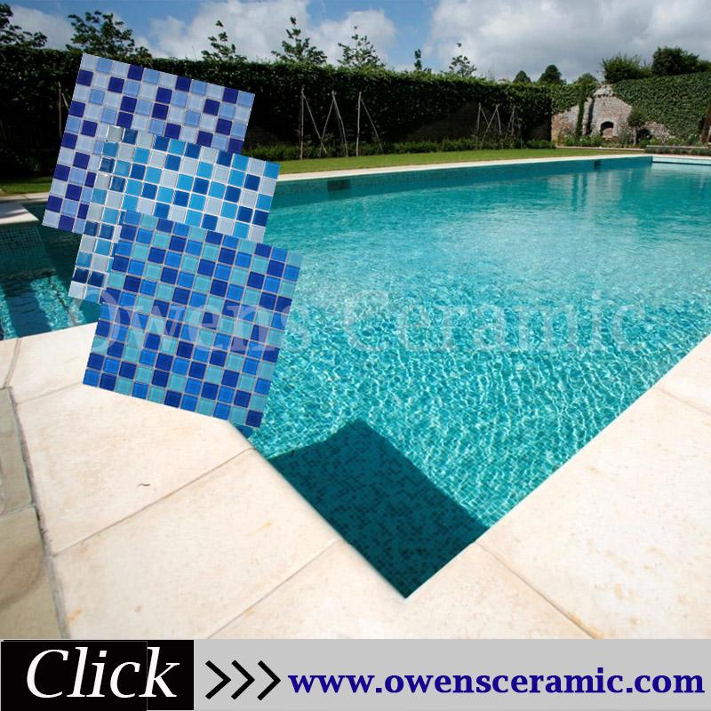Iridescent Glass Mosaic Pool Tile, Iridescent Glass Mosaic Pool ...