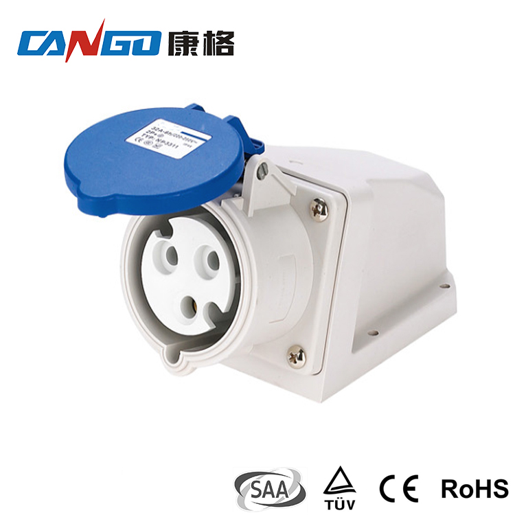 Hot Sale Factory Direct Price Industrial 3 Pin Electrical Switch Wall Socket
