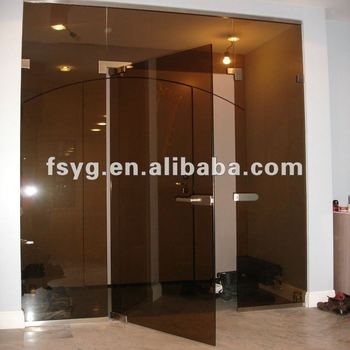 Beau Office Tinted Glass Swing Door YG S051