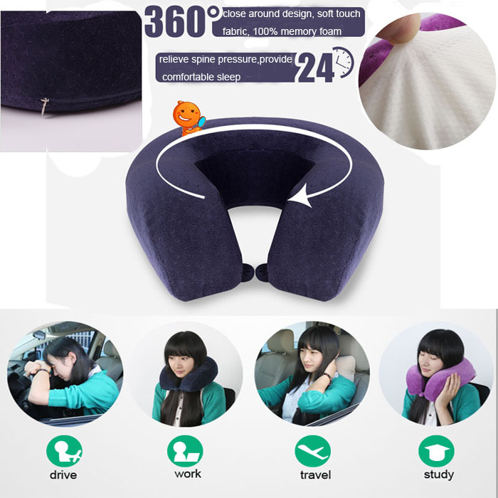 best quality memory foam car neck pillow for driving life - Memory Foam Neck Pillow