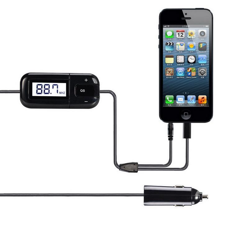 transmetteur fm kit voiture sans fil apple iphone6 plus 5 s usb chargeur de voiture samsung. Black Bedroom Furniture Sets. Home Design Ideas
