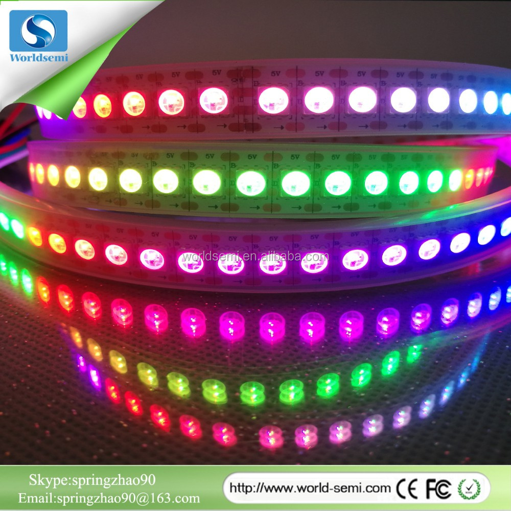 Multicolor Led Light Strip Ws2813 Digital 5050 Programmable Flexible 4 Pin Rgb