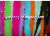 Free Shipping Factory cheap carnival parade costumes plumes long sex Fluffy Luscious colourful marabou feather boa decorations