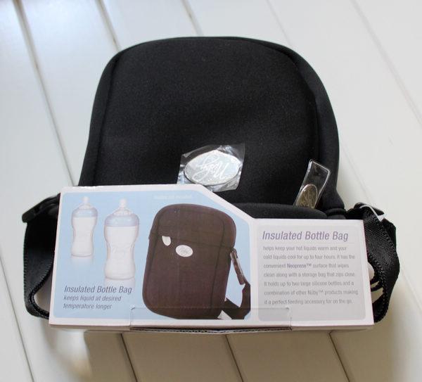 Insulated Bottle Bag Easy carry black milk bottle cooler bag Children milk keep warming bag at