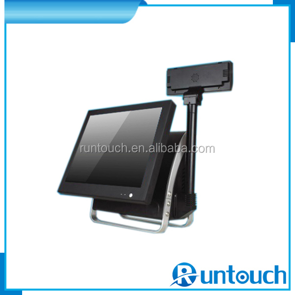 Runtouch RT-6100A 2014 Featured Model Mini POS With Touch screen Cash Drawer Thermal Printer Bar Code scanner