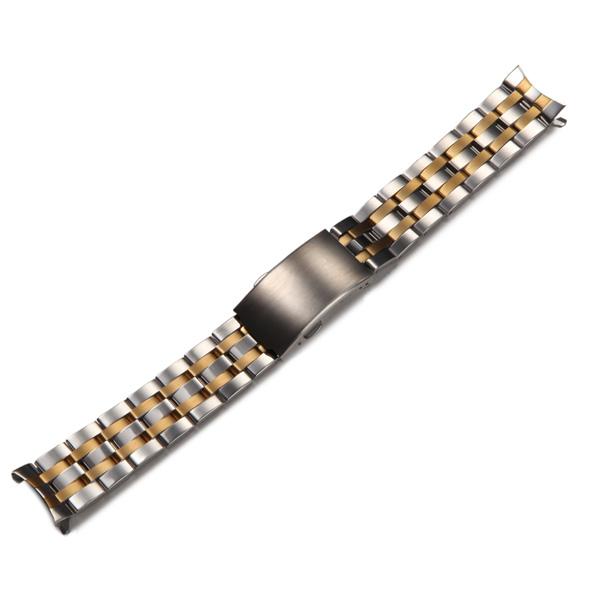 Новое 19 мм нержавеющей стали наручные часы ремень загнутым концом браслет для TISSOT T17 низкая цена