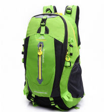 Outdoor foldable waterproof Nylon customized sports hiking backpack climbing backpack