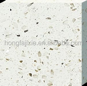 Polished Artificial Quartz Stone/Outdoor Wall Covering Panel