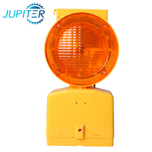 Dependable anti-impac highway security solar blinking led warning light for hazardous area