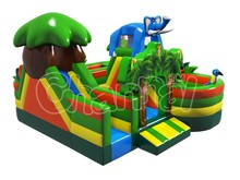 15 years Factory direct sales inflatable obstacle courses inflatble tunnel obstacle adults