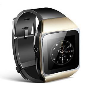 HuanYu New M367 8gb Intelligent Watch Bluetooth Mp3 Music Player Gold
