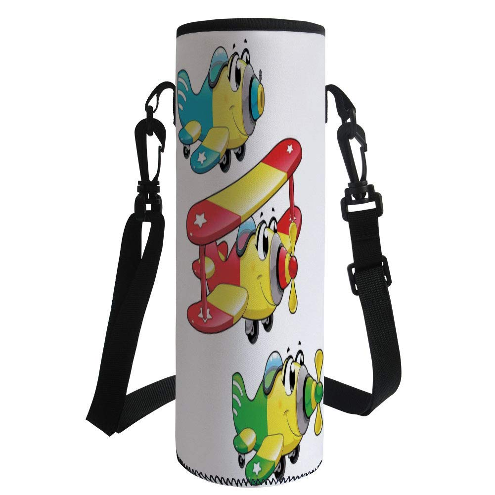 Portable leak-proof Water bottle Green No-lead Pyrex Glass For kids and Girls Premium Quality Original Bunny Girls Glass Water Bottle,BPA free Soft Silicone Protective Sleeve- Dishwasher Safe