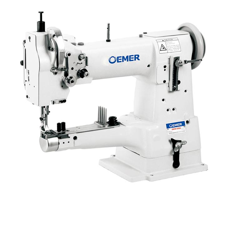 Cylinder Bed Leather Edge Binding Sewing Machine Industrial Walking Fascinating Binding Sewing Machine