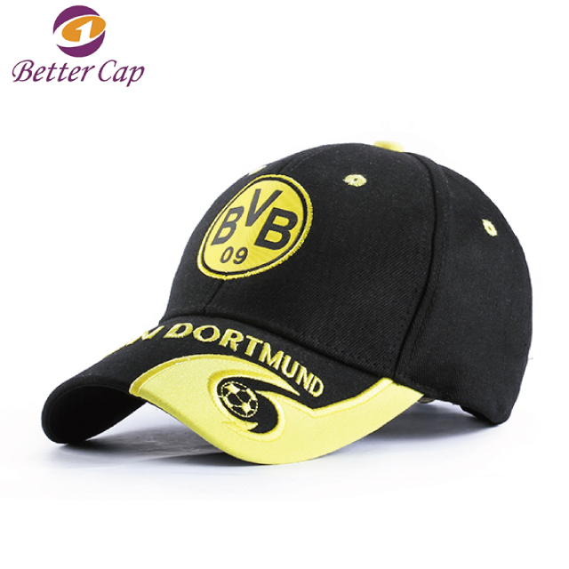 high quality fashion football club sports cap style custom baseball hat