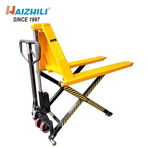 Scissor Lifting Hydraulic Hand Truck With 1000KG Loading Capacity