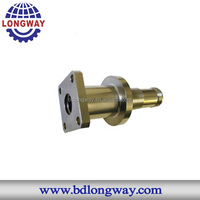 OEM investment casting pipe fitting parts for agriculture