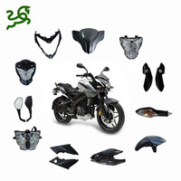Pulsar 200NS 200 NS Motorcycle Complete Plastic Body Parts Front Fenders And Side Cover