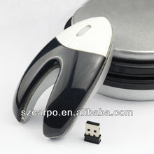 2.4G Cute mouse computer promotional gift items newly design wireless mouse V5