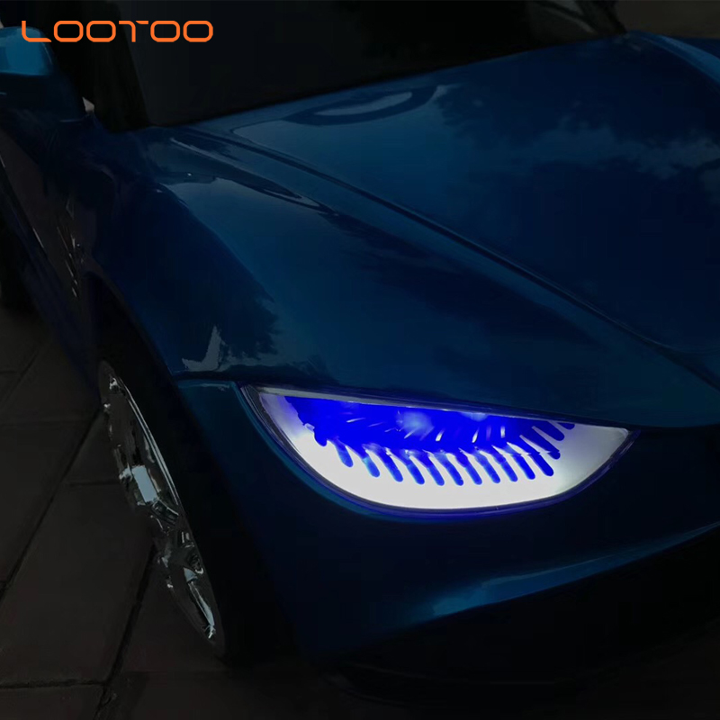 LED blinking eyes cartoon toddler ride on car battery / kids vehicles / cheap electric cars for kids
