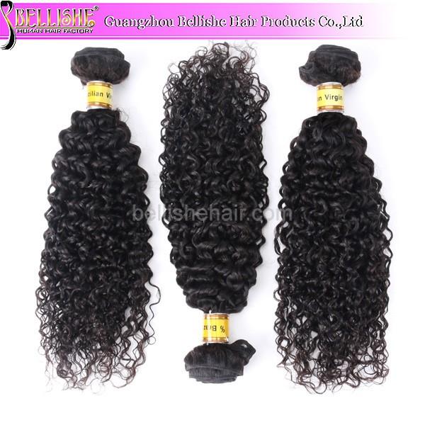 Malaysian Deep Wave Deep Curl Remy Human Hair 18 Inch Brazilian