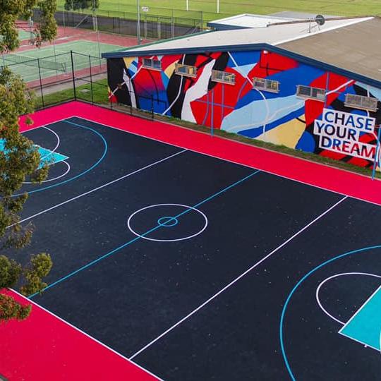 Removable Tiles Sports Court