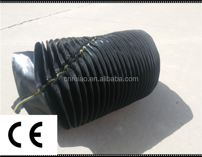Fabric flexible accordion waterproof bellows cover made in