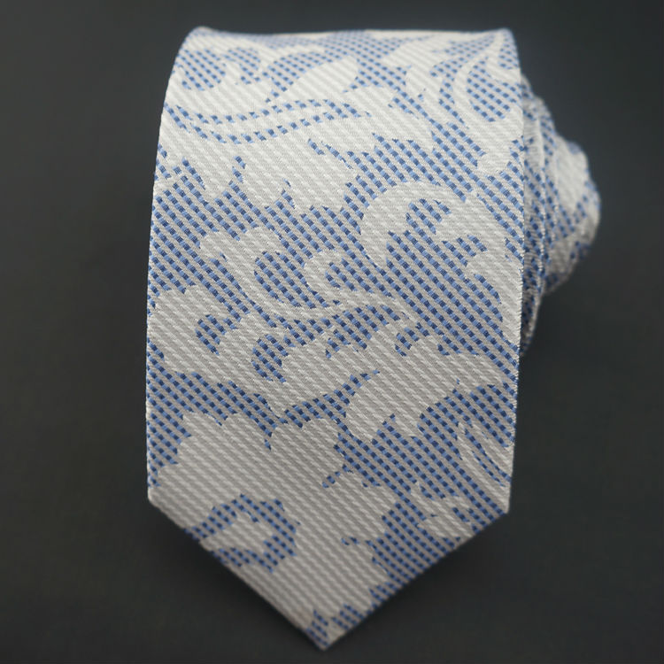 men's silk yarn dyed necktie
