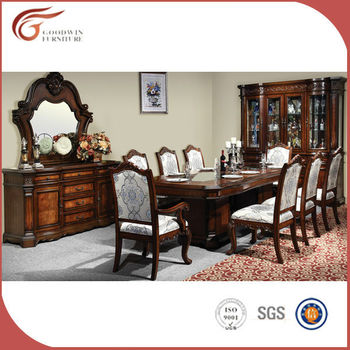 Best Price 8 Seater Wooden Dining Table Chair Furniture Wa140