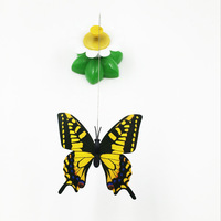 High Quality Rotating Electric Butterfly Plastic Pet Cat Toy