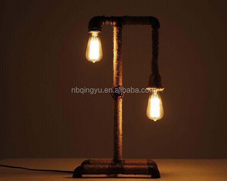 Fornitore porcellana illuminazione vintage tubo di acqua lampada