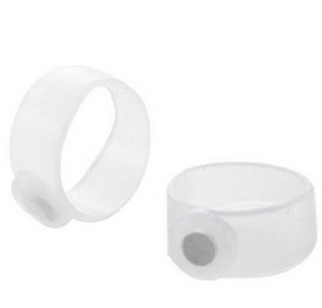 CAETLE® 2 X Silicone Magnetic Body Toe Ring Keep Slim Lose Weight