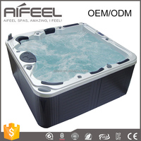 5 person balboa music system freestanding acrylic whirlpool massage portable outdoor spa hot tub