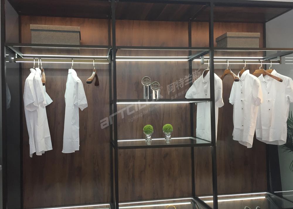 Buy Furniture Direct China 3 Meter Customized Led Closet Light Surfaced ,  Motion Sensor Closet Hanger