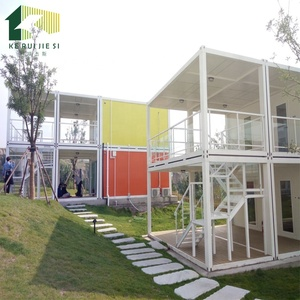 High Quality Ecological Recycled Container Buildings Prefab Apartment/Hotel