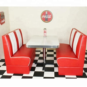 American restaurant diner table and chair furniture sets(FOH-BC21)