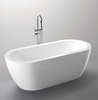 sunzoom HANGZHOU clear acrylic bathtub,freestanding bath,corner bath tub for adult