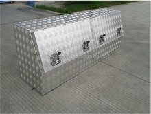 Aluminum Truck /Ute Tool Boxes, Side-openning tool boxes with 2 lids, High-side tool box