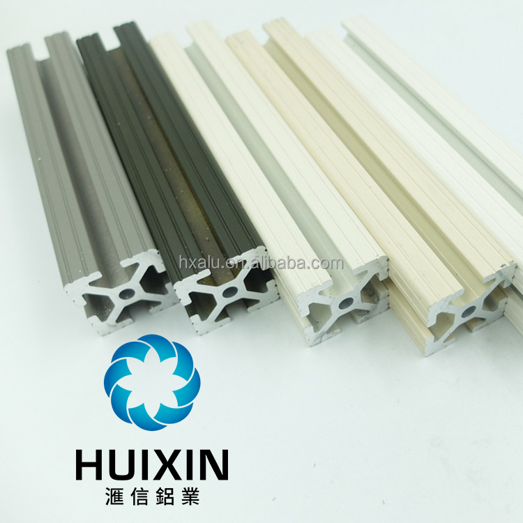 Direct factory customized T slot Aluminium Profile with Various Finish