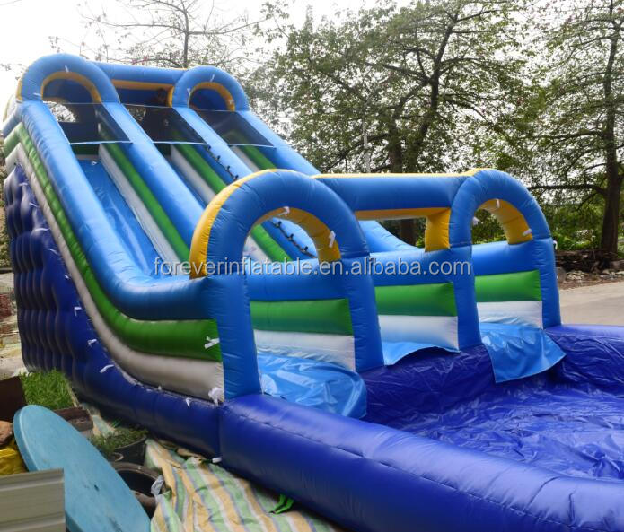 Commercial inflatable new finished water slide