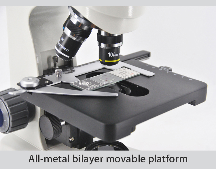 Radical iphone opticalmetal lapidary phase contrast microscope
