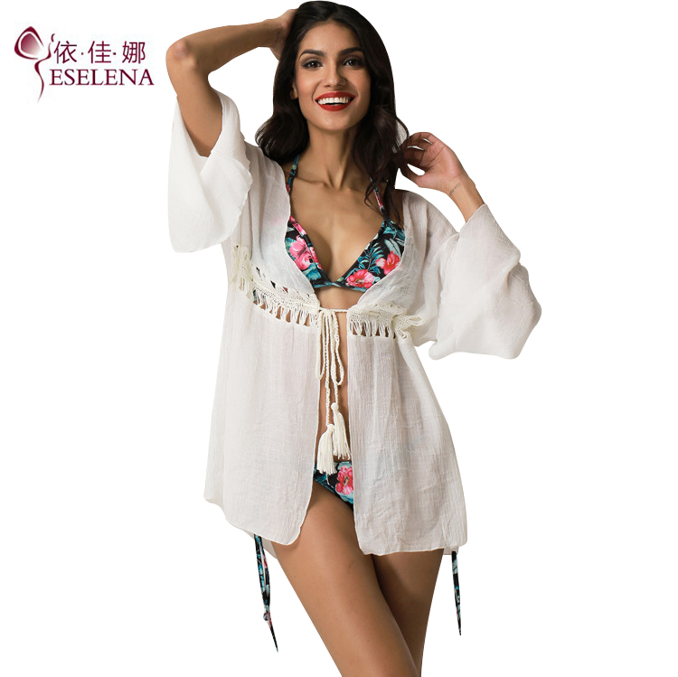 <strong>Swimwear</strong> <strong>Women</strong>/Plus Size <strong>Women</strong> Clothing Bathing Suit Sexy Bikini Shawl Wrap Sunscreen Cardigan Tops Beach Cover Up