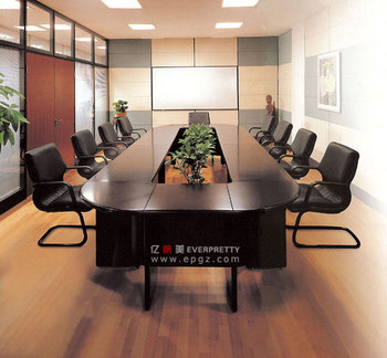 Modern Office Furniture Conference Table Meeting For Company Design Oval Shape