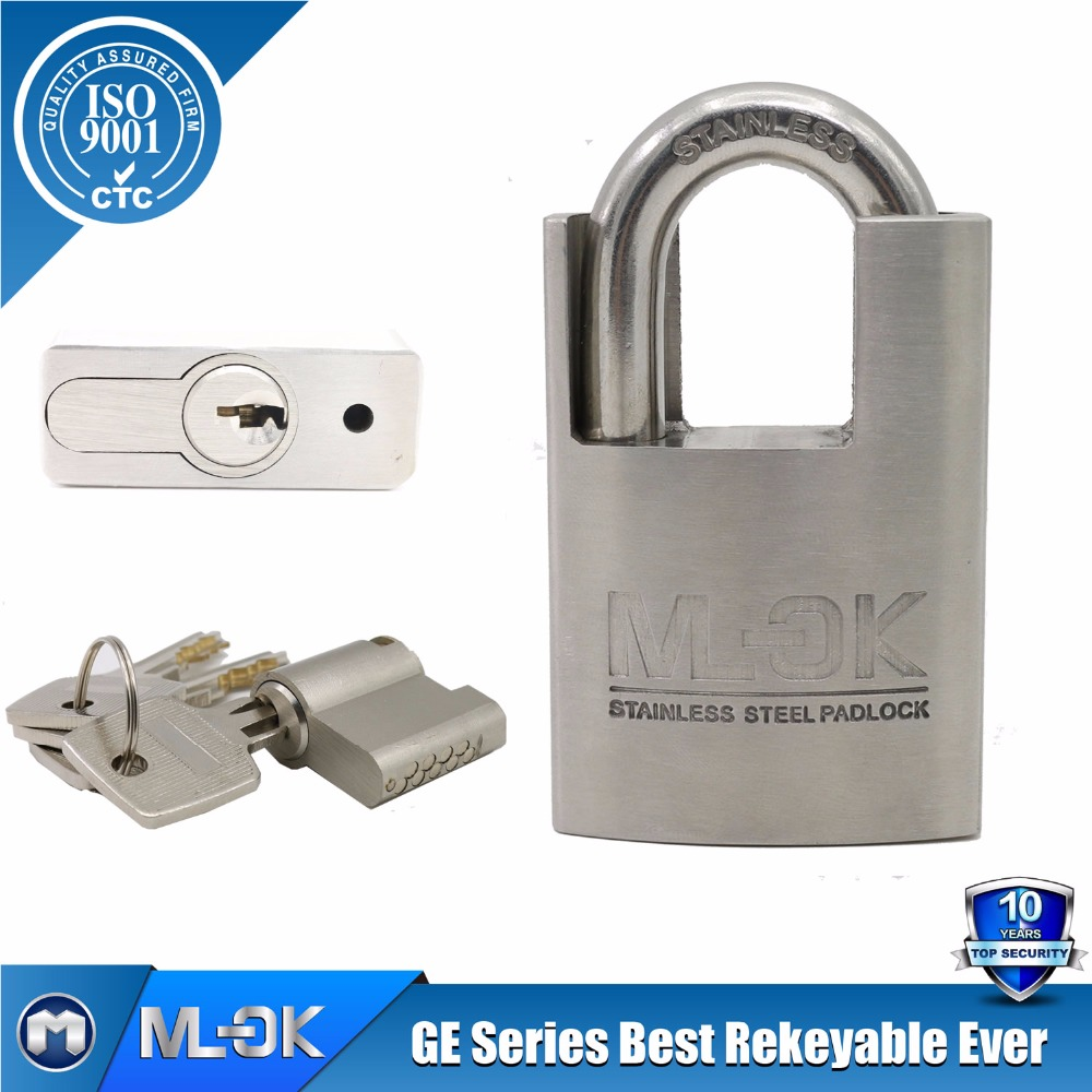 Mok lock@ 35/50GE Customized padlock keys lock pick set master key/keyed alike/keyed difference