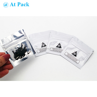Custom printed smell proof small mylar herbal bags with ziplock