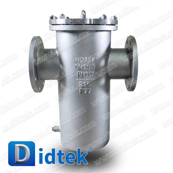 Didtek Competitive Price DIN Standard Stainless Steel Basket Strainer